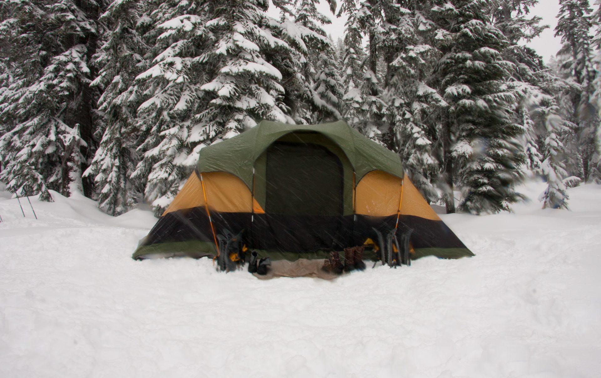 冬キャンプの注意点